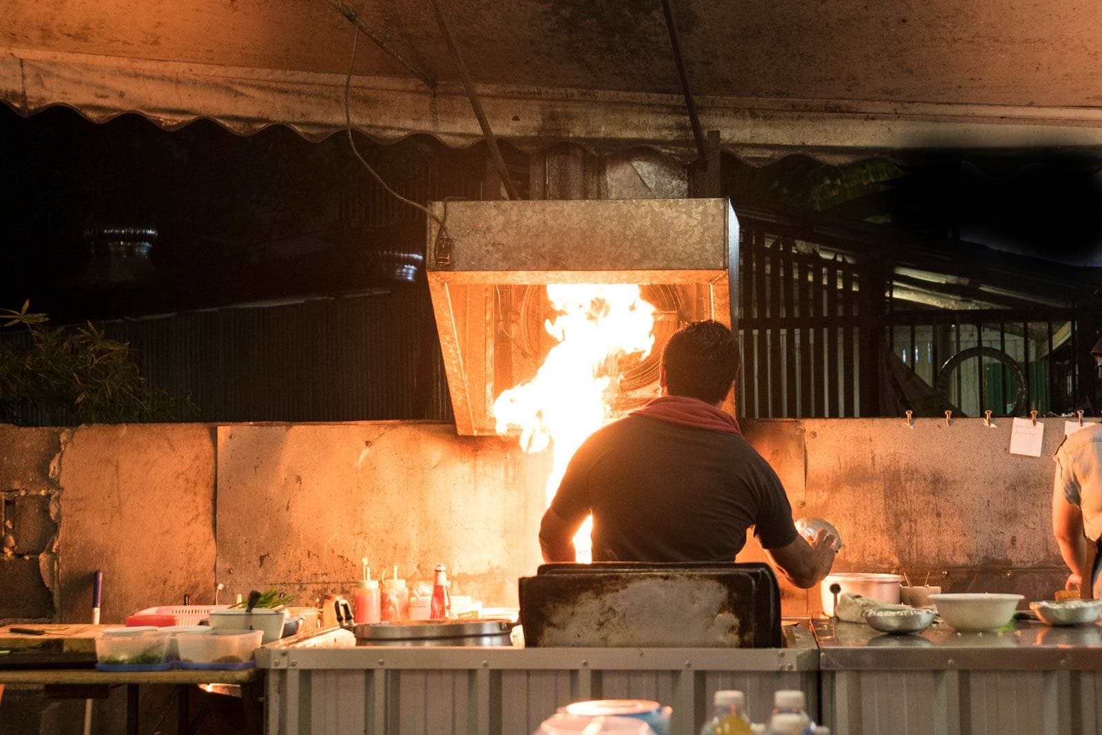 The fire chef of Phuket