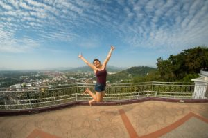 Jana at Rang Hill Viewpoint in Phuket