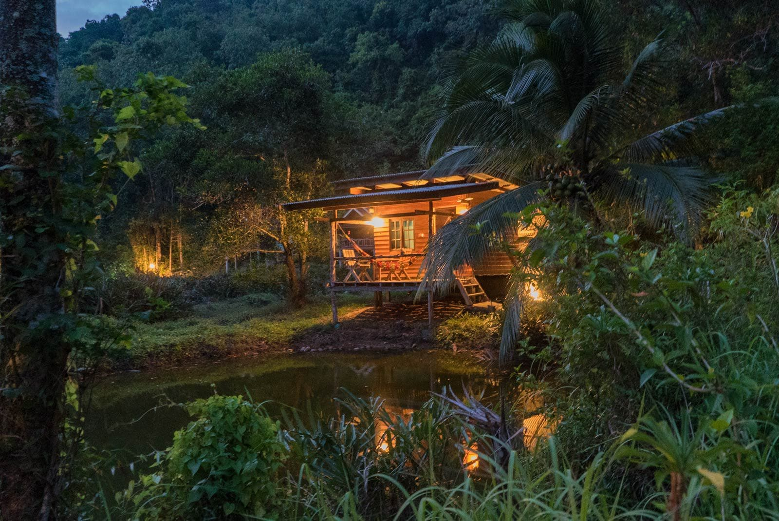 Our hut in Ko Yao Noi