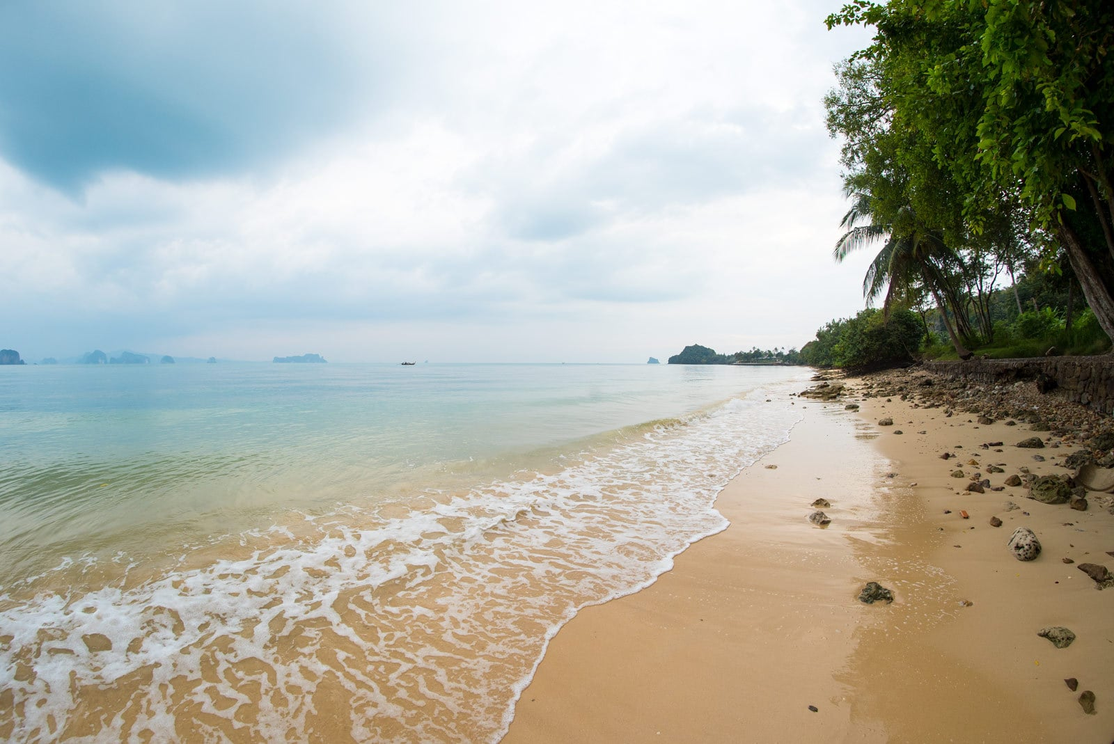 Lonely beach in Ko Yao Noi