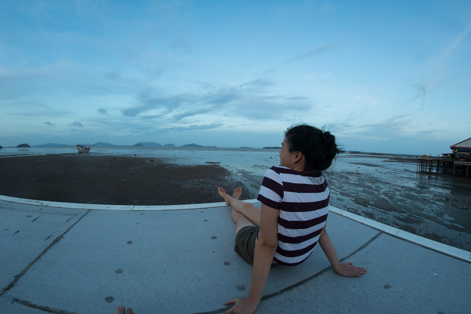 Fantastic view from Sriraya Guesthouse
