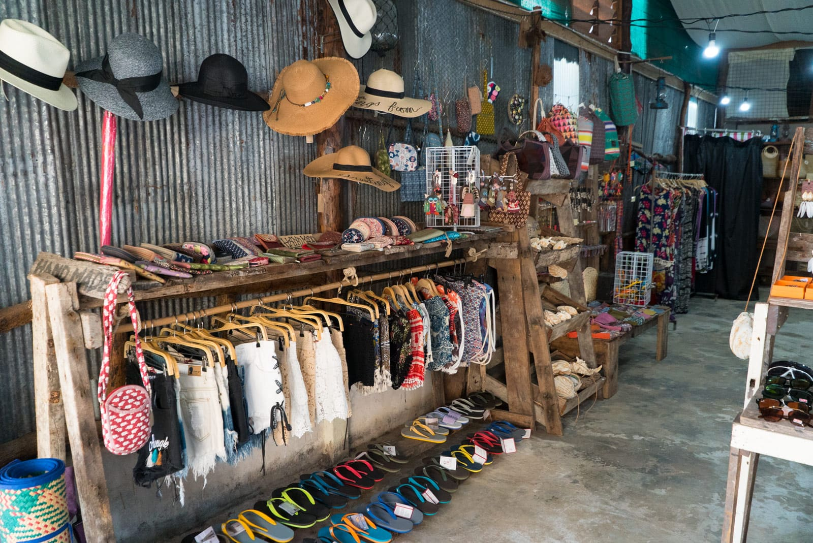 Beautiful clothes in Koh Lanta Old Town